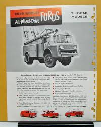 Vintage Ford Truck Advertisements - ford truck marmon herrington all wheel drive built exclusively