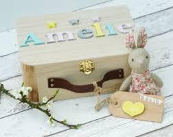 personalised keepsake box baby memory box etsy