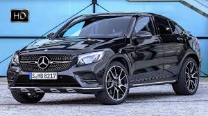 mercedes jeep matte black 2017 mercedes u2011amg glc 43 coupé 4matic suv obsidian black exterior