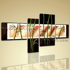 shui zen art giclee artworks bamboo on canvas stretched prints