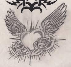 heart with wings by fabian14d on deviantart
