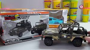 jeep toy car military jeep toy car die cast car toy for kids youtube