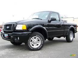 Ford Ranger Truck Colors - 2004 black ford ranger edge regular cab 2974233 gtcarlot com