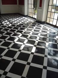 Art Deco Flooring | love this black and white art deco floor black and white