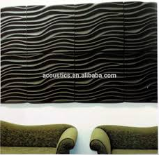 3d Wall Panel New Design Decorative 3d Wall Panels 3d Polyester Fiber Acoustic