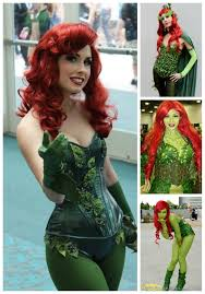 Halloween Costumes Red Hair Poison Ivy Cosplay Costume Halloween Costumes Blog