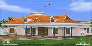 One Floor House by Kerala Single Story House Model 2800 Sq Ft Kerala Home Design