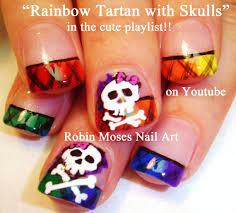 robin moses nail art halloween nails ephemera nail art with