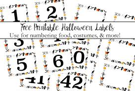 halloween lables free printable halloween numbered labels plus blanks
