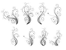 250 free vintage graphics flourish vector ornaments