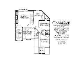 chamberlin ii house plan house plans by garrell associates inc