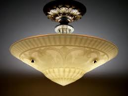 Art Deco Ceiling Light Fixtures Vintage Ceiling Light Fixtures Baby Exit Com