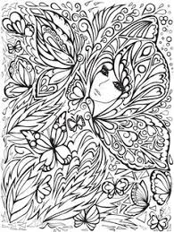 print printable butterfly adults coloring pages butterfly
