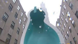 is it a swimming pool or u0027van gogh u0027s ear u0027 rockefeller center