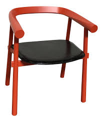 vintage u0026 used red accent chairs chairish