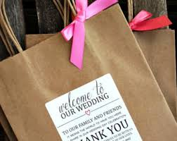hotel welcome bags wedding welcome bags etsy