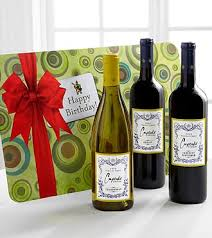 wine birthday gifts what s better than cupcakes on your birthday cupcake wine on your
