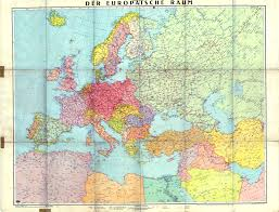 1943 map of europe published in berlin luckily the map seller