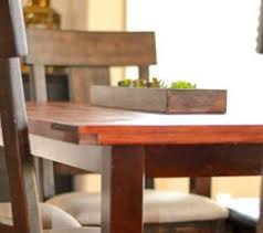 Remodelaholic How To Build A Desk With Wood Top And Metal Legs by Remodelaholic Diy Table