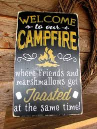 primitive country decor country wood sign cfire sign