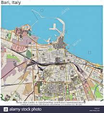 Bari Italy Map by Bari Italy City Map Stock Photo Royalty Free Image 92437255 Alamy