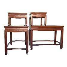 chinese rosewood side table mid century modern chinese rosewood side tables stacking chinoiserie