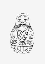 Count Color Pages In Pdf 15 Matryoshka Coloring Pages Pdf By Dachastudio On Etsy