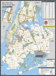 Map Of New York And Manhattan by Nyc Dot Trucks And Commercial Vehicles