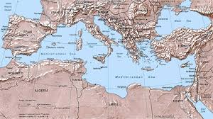 Map Of Syria And Surrounding Countries by List Of Mediterranean Countries Wikipedia