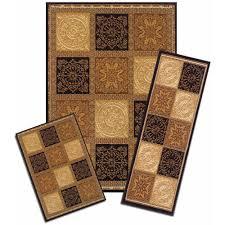 3 piece rug sets