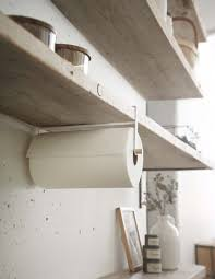 kitchen towel holder ideas yamazaki home tosca shelf paper towel holder