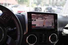 jeep wrangler navigation system alpine x009 wra jeep wrangler in dash restyling system