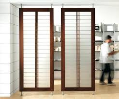 industrial room divider sliding transparent screen ikea dividers