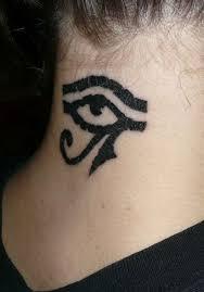 Tattoo Ideas Back Neck 22 Horus Eye Tattoo On Neck