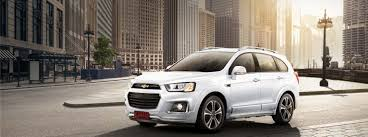 chevrolet captiva the progressive suv more power more practicality