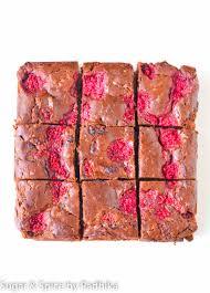 Dark Chocolate Raspberry Brownies by Baileys Chocolate Truffles