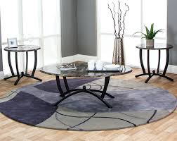 Coffee Table Set And Gray Marble Coffee Table Set Electra 3 Table Set
