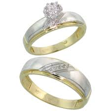 yellow gold wedding bands for him and her tags and yellow
