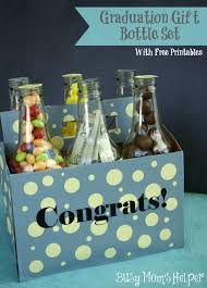 gifts for graduating seniors graduation gift bottle set busy s helper graduation gifts