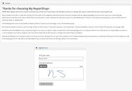 repairshopr features crm point of sale invoicing ticketing
