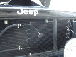 1999 jeep grand radiator replacement trans cooler install in a xj jeepforum com