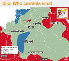 Isis Syria Map by Idlib Who Controls What Syria Al Jazeera
