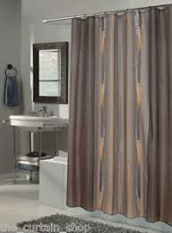 84 Inch Fabric Shower Curtain Catherine Printed Fabric Shower Curtain 72 Inch By 84