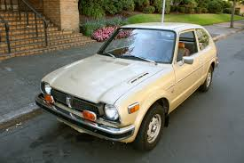 old parked cars golden eggs 1976 honda civic hatchback