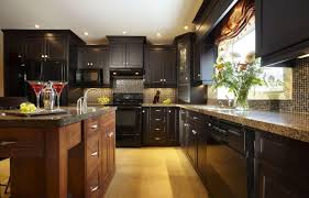 dark countertops with dark cabinets single storage drawer glass