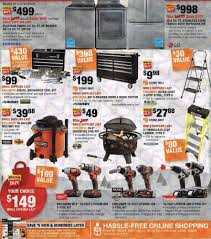 home depot appliance deals black friday home depot black friday ad 2017
