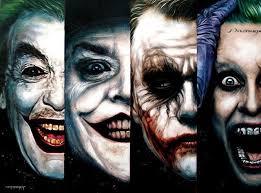 imagenes de jack napier batman superman and joker paintings by ben jeffery cesar romero