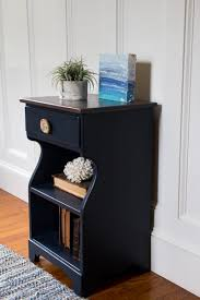 charming midnight blue nightstand general finishes design center