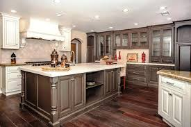 Light Brown Kitchen Cabinets Light Brown Kitchen Cabinet Color Idea Two Tone Cabinets Trend