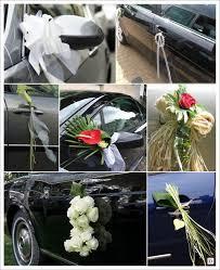 deco mariage voiture décorrations fait avec fil aluminium pour table de mariage